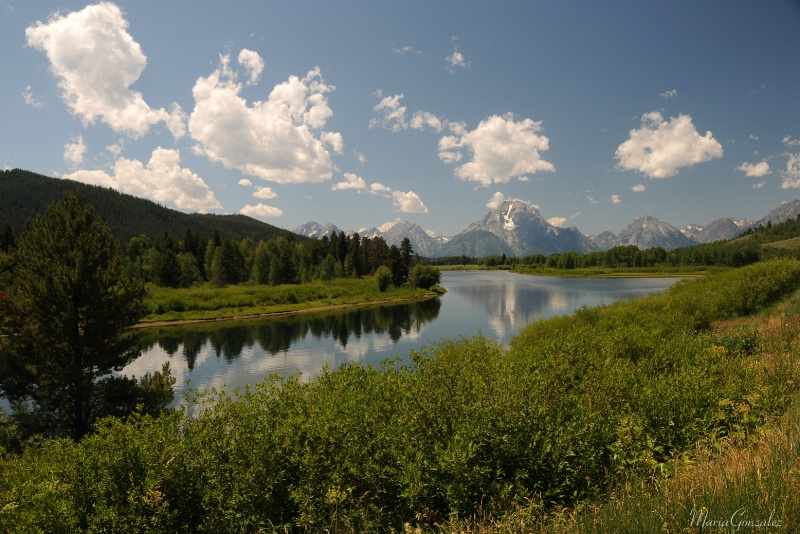 The Grand Tetons Reflections