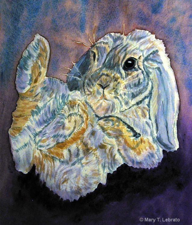 rabbit  2 watercolor - ID: 11314256 © Mary T. Lebrato