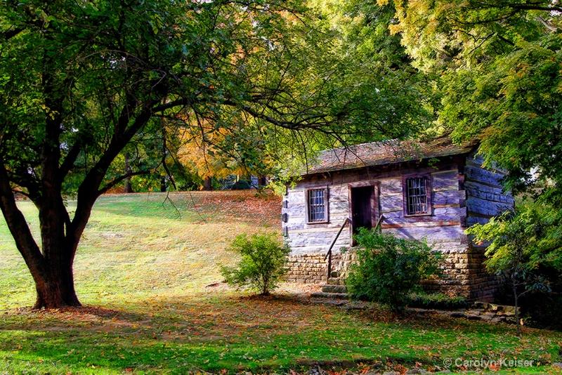 Judge John Rowan's Cabin - 1795-1840 - ID: 11315012 © Carolyn Keiser