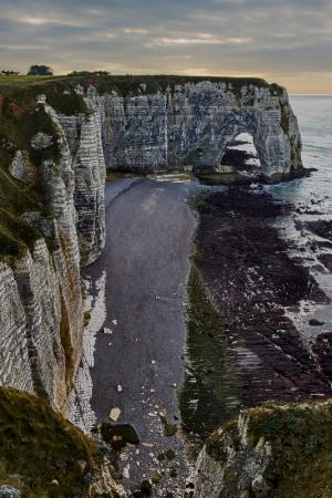 Cliffs at Étretat, Normandie