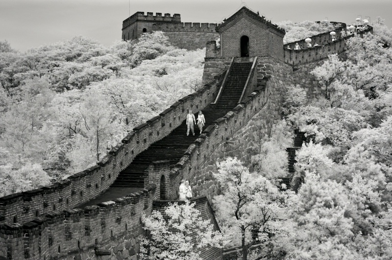 The Great Wall in infrared - ID: 11335618 © Robert A. Eck