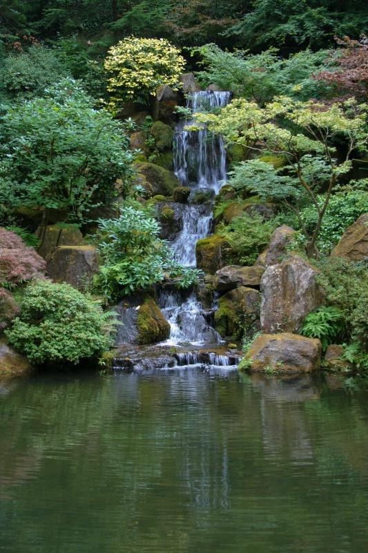 Serenity-Japanese Gardens, Portland, Oregon