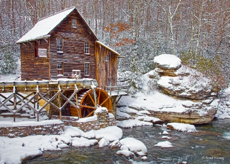 Glade Creek Grist Mill; Danese, W.Va.