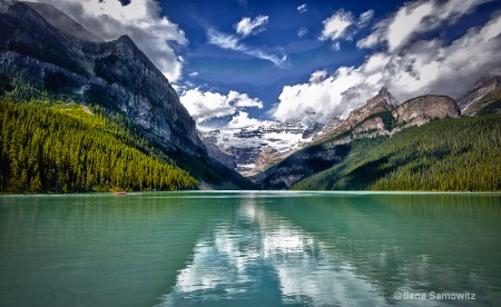 Lake Louise Cloud Reflections