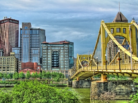 Clemente Bridge Pittsburgh