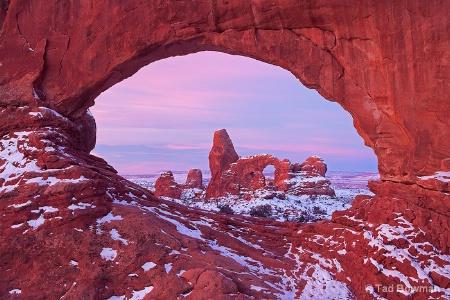 Turret Arch Sunrise