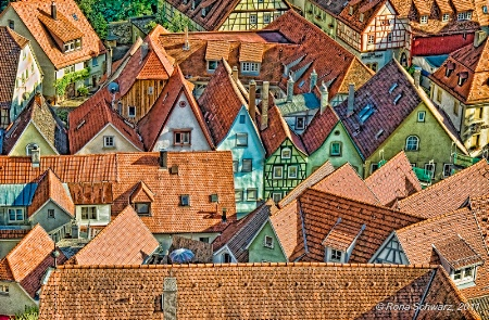 The Roofs of Bad Wimpfen