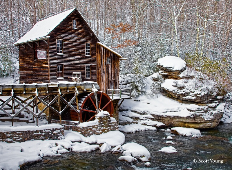 Glade Creek Mill; Danese, Va. - ID: 11434225 © Richard S. Young