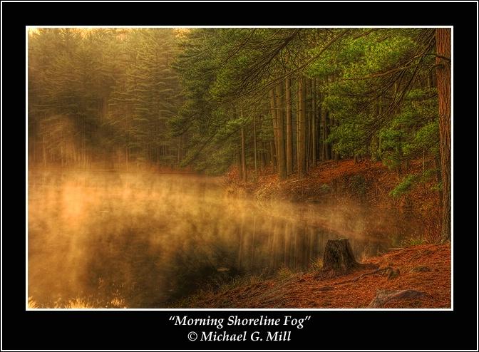 Morning Shoreline Fog