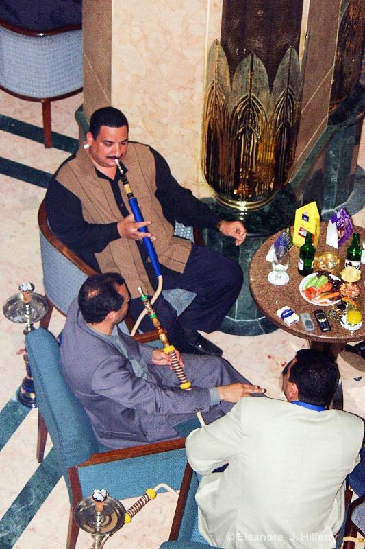 Smoking at the Cairo-Ramses Hilton - ID: 11442090 © Eleanore J. Hilferty