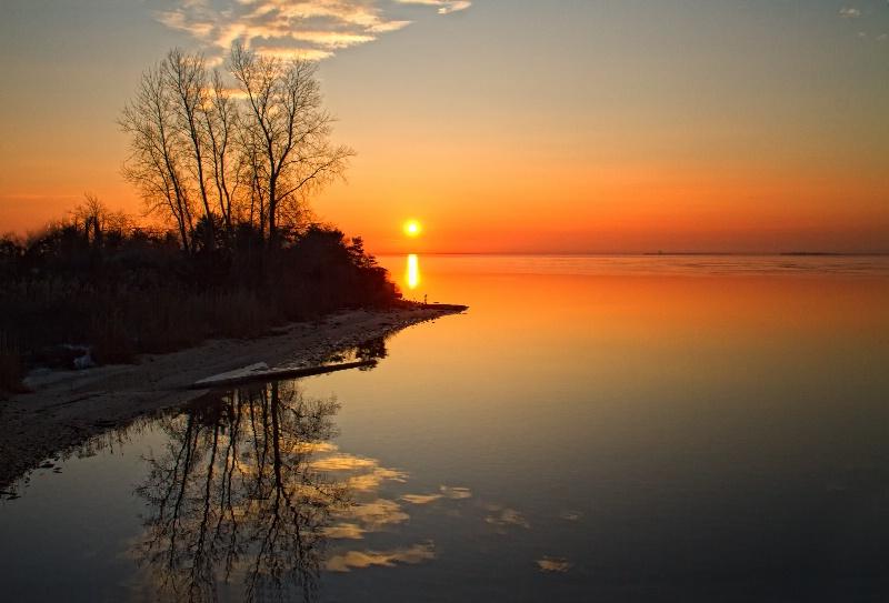 Great South Bay Sunrise Reflection