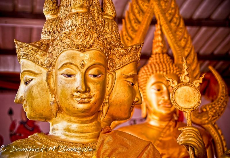 BUDDHA'S MANY FACES