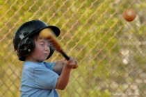 The closed-eyes approach at bat