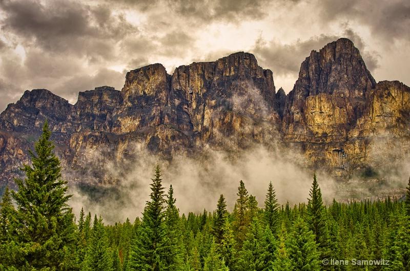 Canadian Rockies Closeup