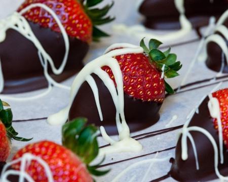 Chocolate Meets Strawberries