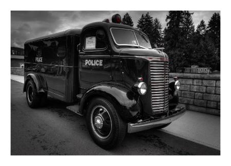 Classic Police Wagon