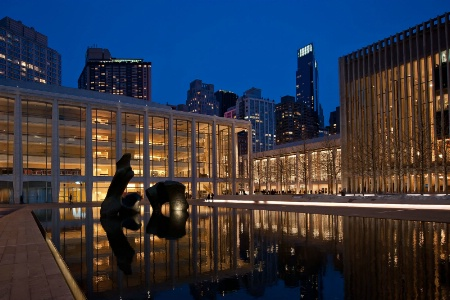 Reflecting Pool at Lincoln Center