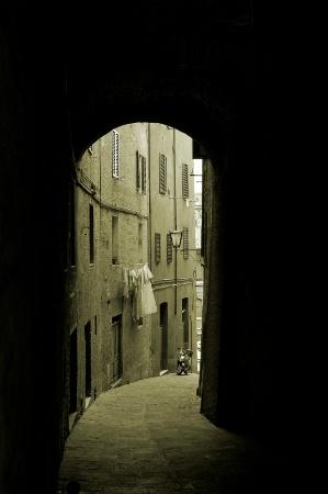 A Street in Siena