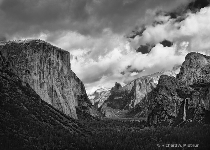 Clouds and Light, Yosemite Valley