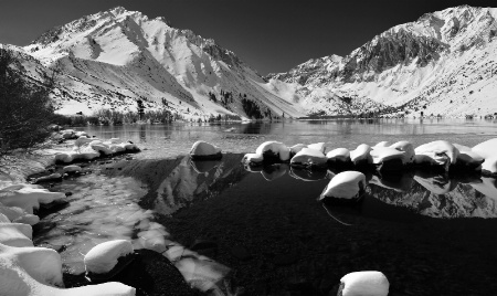 Winter at Convict Lake