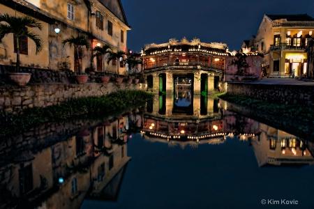 Pagoda Bridge Reflections