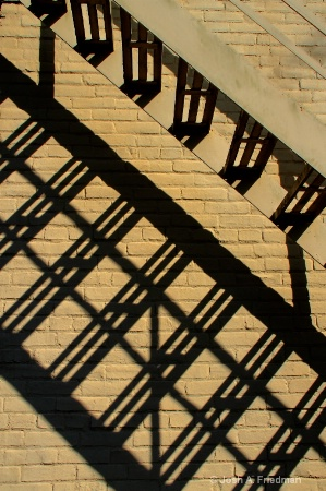Fire Escape & Shadow
