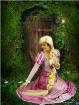 Nikki as Rapunzel