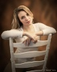 Amanda on chair