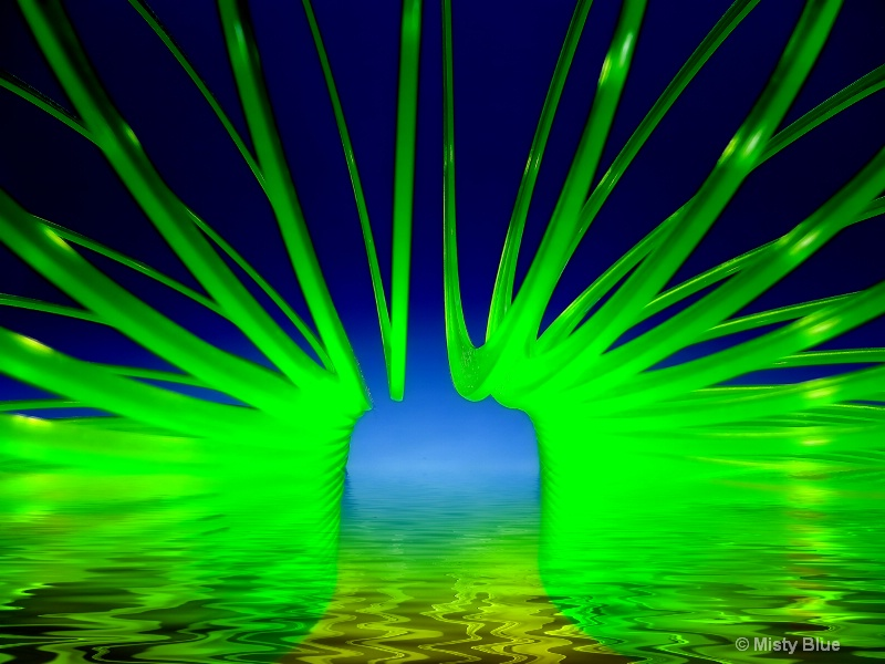 Go Green with Liquid Rings....