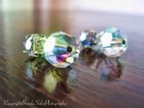 ~Vintage Crystal Earrings - 2~