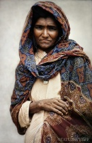 Portrait of a Woman in Dharamshala ~ India