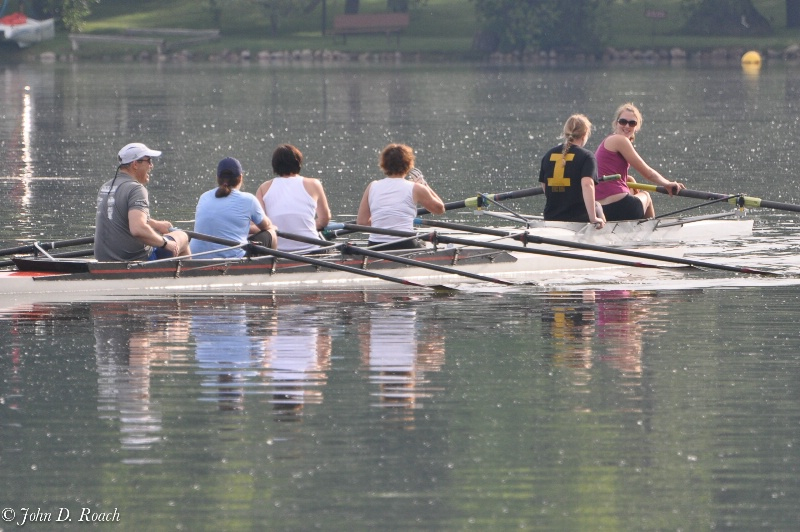 Morning Rowers, Crystal Lake, Illinois - ID: 11544645 © John D. Roach