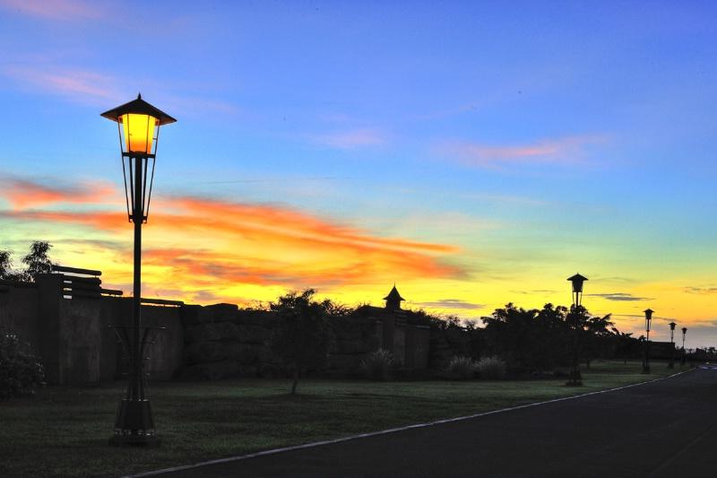 Sunset at Tamarina