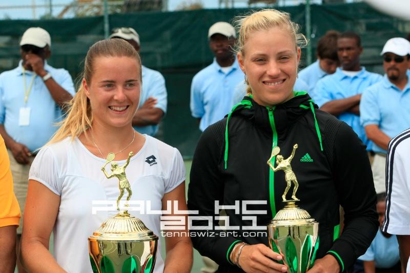 Yakimova & Kerber - Final of Bahamas Women' - ID: 11565430 © Paul HAGE CHAHINE