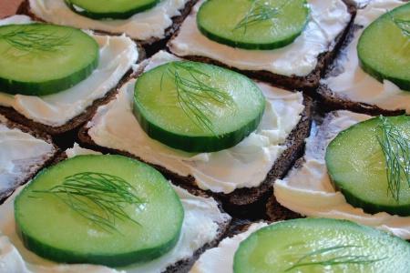 Cucumber & Dill Sandwiches