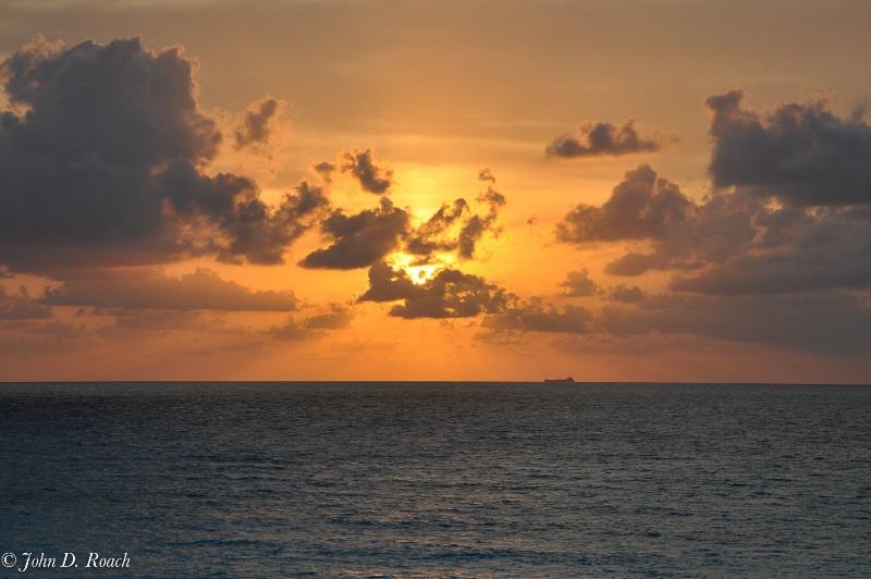 Cancun Sunrise - ID: 11602653 © John D. Roach