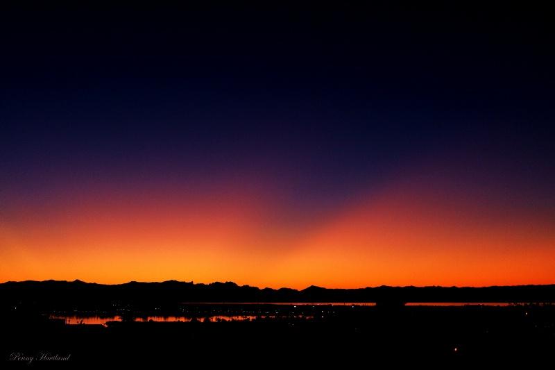 Twilight Over Havasu