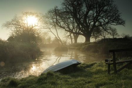 Misty Morning Pool