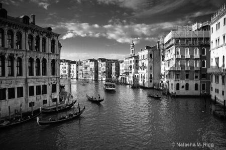 Venice, Italy B&W