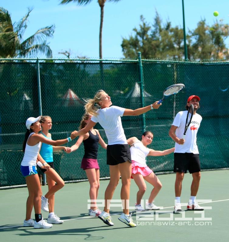 Maria Sharapova clinics7.jpg - ID: 11659248 © Paul HAGE CHAHINE