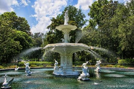 Savannah Water Fountain