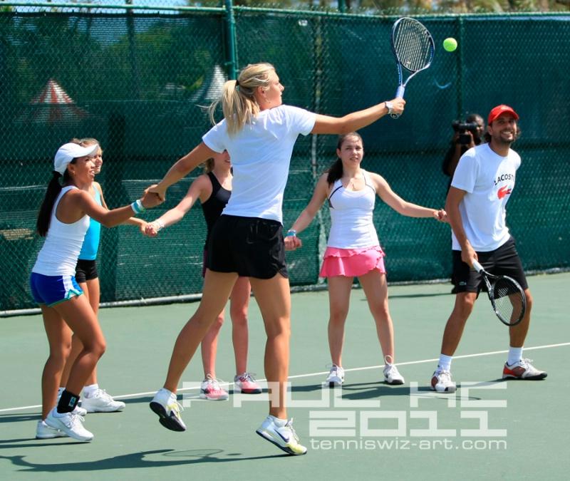 Maria Sharapova clinics18 - ID: 11659280 © Paul HAGE CHAHINE