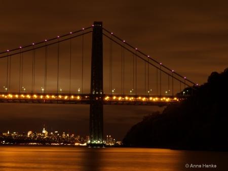 Magic of Light on Hudson River