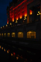 Evening at Canal Rideau,-2