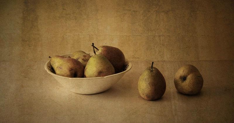 vintage pears II