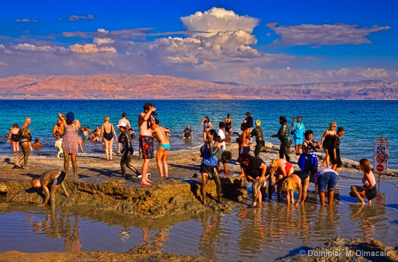 ~DEAD SEA'S MUD PEOPLE ~ - ID: 11724381 © Dominick M. Dimacale