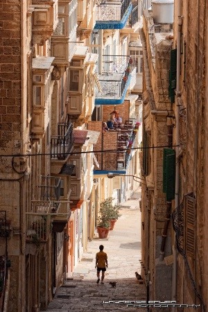 Stepped Streets of Valletta