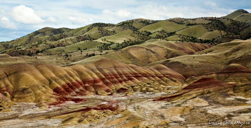 Painted Hills Vista - ID: 11776966 © Craig W. Myers