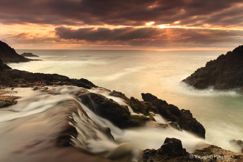Sunset Near Otter Rock