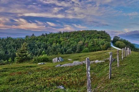 Along The Blue Ridge